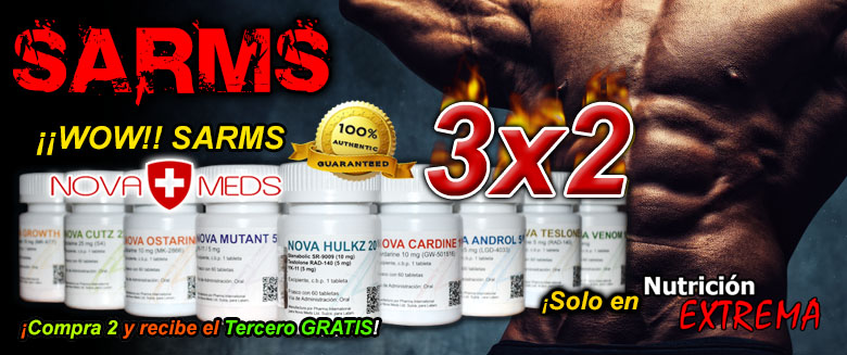 SARMS Nova Meds en Tabletas al 3x2!