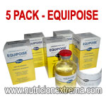 Equipoise 50 - 5 Frascos 50 ml x 50 mg Super Pack Especial
