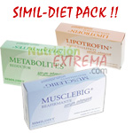 SimilDiet Pack Lipo + Meta + Muscle
