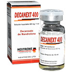 Decanext 400 - Nandrolona 400 mg x 10 ml. NEXTREME LTD