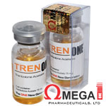 Tren ONE - Trembolona 75mg x 10ml. Omega 1 Pharma