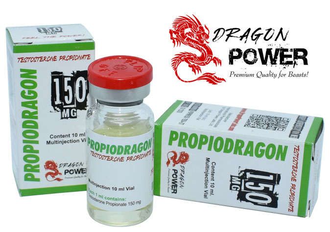 PropioDragon 150 - Propionato de Testosterona 150 mg x 10 ml. Dragon Power