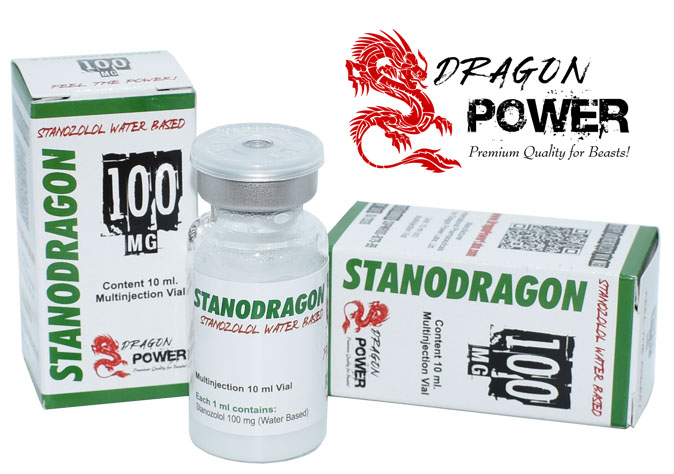 StanoDragon 100 - Estanozolol Winstrol 100 mg x 10 ml. Dragon Power