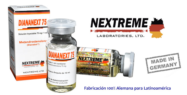 Diananext 75 - Dianabol Inyectable 75 mg NEXTREME LTD
